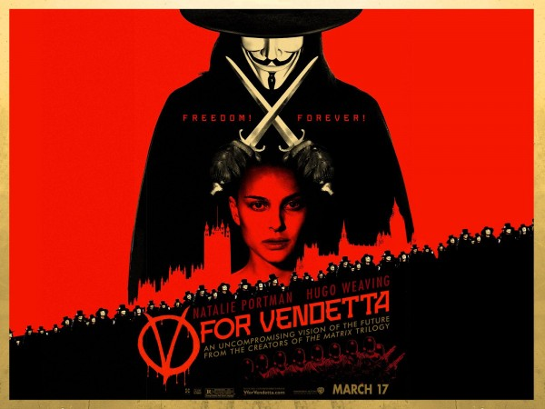 V – V for Vendetta (2005)