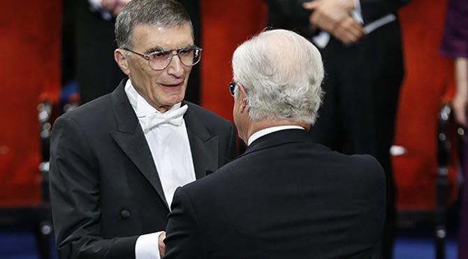 aziz sancar-nobel