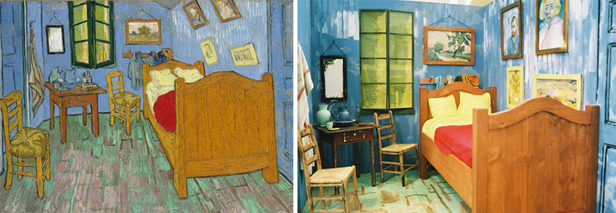"""Bedroom in Arles"" by Van Gogh"