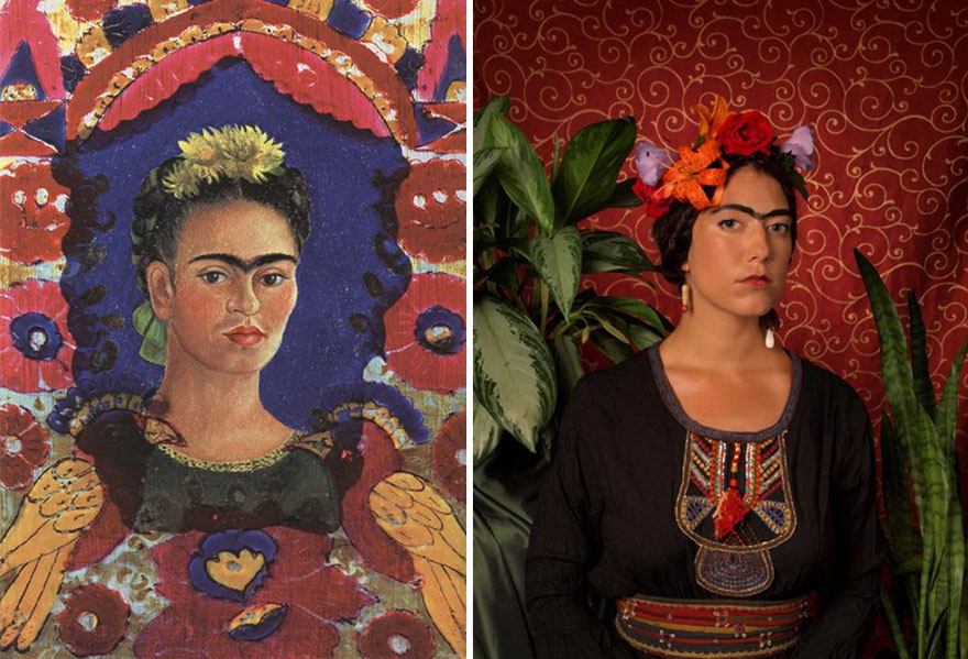 """Self Portrait"" by Frida Kahlo"