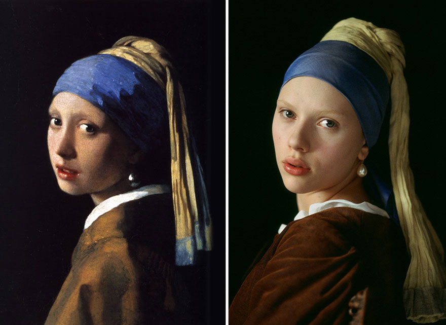"""The Girl With The Pearl Earring"" by Johannes Vermeer"