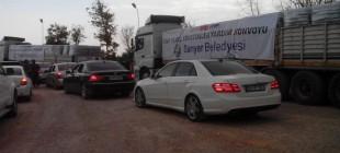 CHP konvoyu Suruç'a yetişti!