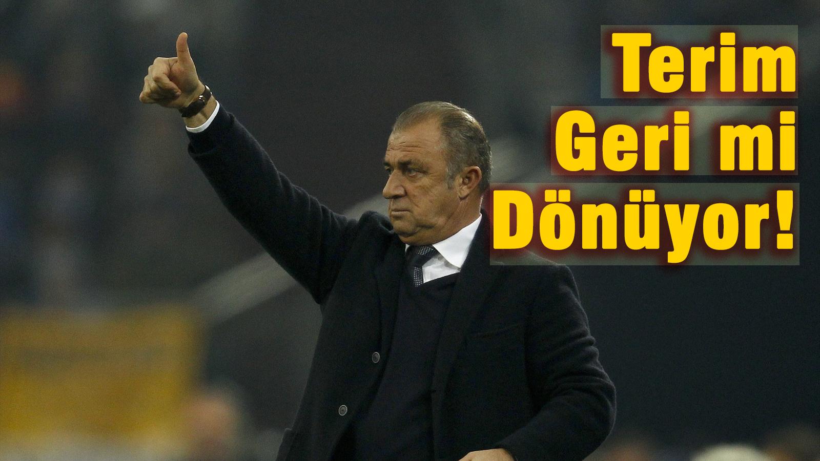 Galatasaray'da Terim sürprizi!
