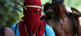 Amazon yerlileri ağaç kesenleri cezalandırdı!