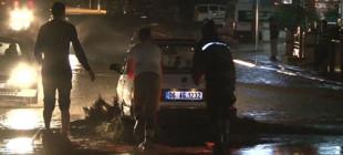 Ankara Sincan'da sel, çok sayıda yurttaşı yaraladı