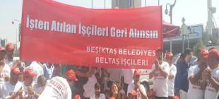 CHP kongresinde işçilerden eylem!