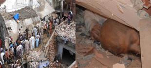 Pakistan'da cami çöktü: En az 24 ölü!