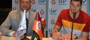 Galatasaray Liv Hospital'ın yeni transferi  Micov imzayı attı!