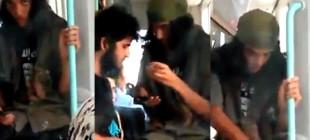 İstanbul tramvayında 'IŞİD' militanları!