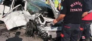 Manisa'da trafik kazası: 4 ölü 3 ağır yaralı!