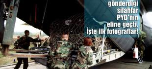 YPG gönderilen silahların fotoğraflarını yayınladı!