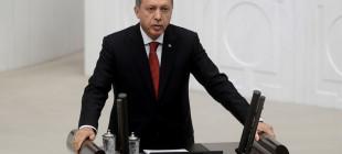 Erdoğan'dan mecliste bir ilk!