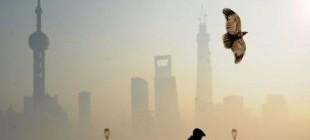 Çin'de hava kirliliği!