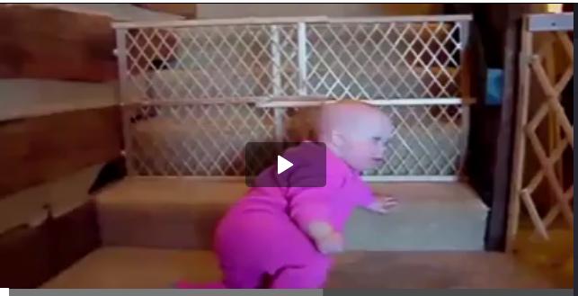 Video: İşte engel tanımayan bebekler!