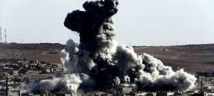 Kobani'ye ağır silahlı 200 peşmerge!