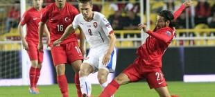 Türkiye 1-2 Çek Cumhuriyeti!