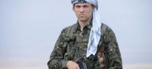 Rojava'da bir Amerikalı