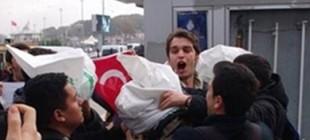 İstanbul'da ABD askerinin kafasına çuval geçirildi!