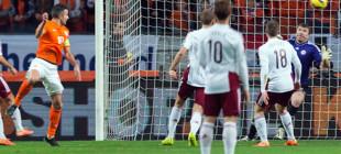Hollanda Letonya'ya patladı!