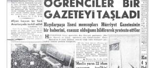 Deniz ve Mahir hocaları için gazete taşladı  (Can Dündar)