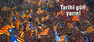 Katalonya ya bağımsızlık ya bağımsızlık diyor!