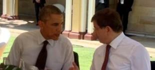 Zirve'de Davutoğlu-Obama görüşmesi