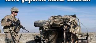 Taliban'dan NATO konvoyuna saldırı!