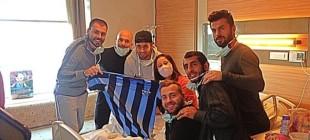 Adana Demirspor futbolcularından anlamlı ziyaret!