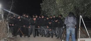 Yırca'daki şantiyede güvenlikçilerle beraber 100 kişi işen çıkarıldı!