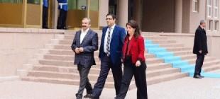 """HDP Heyeti açıklaması, Öcalan: """"Devlet heyeti ile mutabık kalınmıştır"""""""
