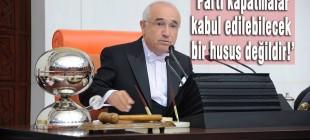 Cemil Çiçek'ten 'HDP'nin kapatılması' açıklaması!