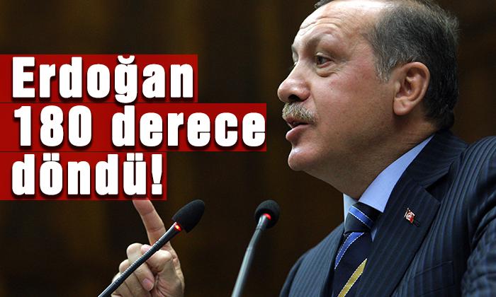Erdoğan'dan 1800 dönüş!