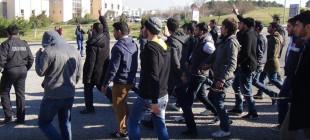 Mahkemeye sevk edilen 27 öğrenci serbest