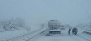 Dikkat! İzmir-İstanbul yolu trafiğe kapandı