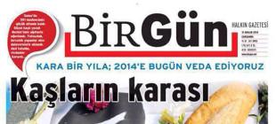 BirGün gazetesinden yılın manşeti