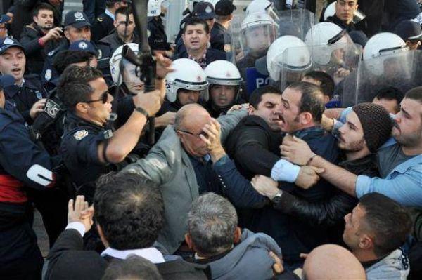 ANSAN polis ve zabıta tarafından boşaltıldı!