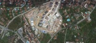 Kısıklı'daki ağaç katliamı Google Earth'tan görünüyor