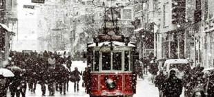 İstanbul yeniyıla karla giriyor!