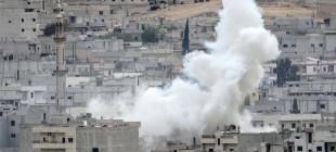 IŞİD bombası düştü asker siren çaldı!