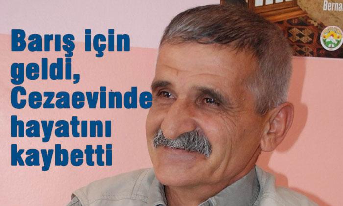 """Barış Grubu üyesi olarak 2009'da Türkiye'ye giden Lütfü taş, Diyarbakır D Tipi Kapalı Cezaevi'nde yaşamını yitirdi. Kürt Halk Önderi Abdullah Öcalan'ın çağrısı üzerine 2009'da yılında Kandil'den Türkiye'ye giden Barış Grubu'nda yer alan Lütfü Taş, 2010 yılında hakkında """"örgüt üyesi olmak"""" iddiasıyla açılan dava kapsamında tutuklandı. 5 yıldır Diyarbakır D Tipi Kapalı Cezaevi'nde bulunan Taş, geçirdiği belirtilen kalp krizi sonucu bu sabah yaşamını yitirdi. Taş'ın herhangi bir rahatsızlığının olmadığı belirtilirken, Cezaevi İdaresi'nin bu sabah Taş ailesini aradığını ve Taş'ın kalp krizi sonucu yaşamını yitirdiğini aileye ilettiği kaydedildi. Taş'ın Cenazesi, cezaevinden alınarak Diyarbakır Ziya Yaşargil Eğitim ve Araştırma Hastanesi'ne getirildi. Taş'ın cenazesi buradan da Diyarbakır Selahhattin Eyyübi Devlet Hastanesi'ne otopsi için götürülecek. Burada yapılacak olan otopsinin ardından Taş'ın cenazesi, İstanbul'a götürülecek."""