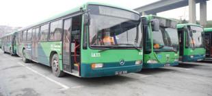 İETT şoförü otobüsü durdurup namaz kıldı!