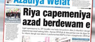 Türkiye Azadiya Welat davasını kaybetti!
