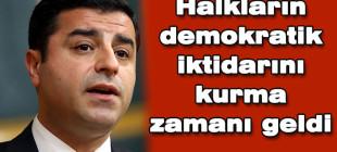 Demirtaş Diyarbakır'da konuştu!