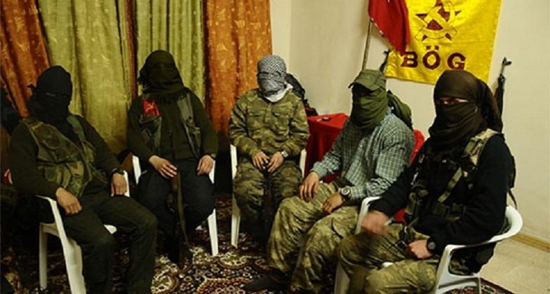 Kobani'de savaşan Türkiye'li solcular (İdris Emen/Radikal)