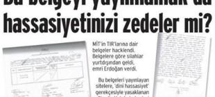 Birgün yayın yasağını manşette karşıladı!