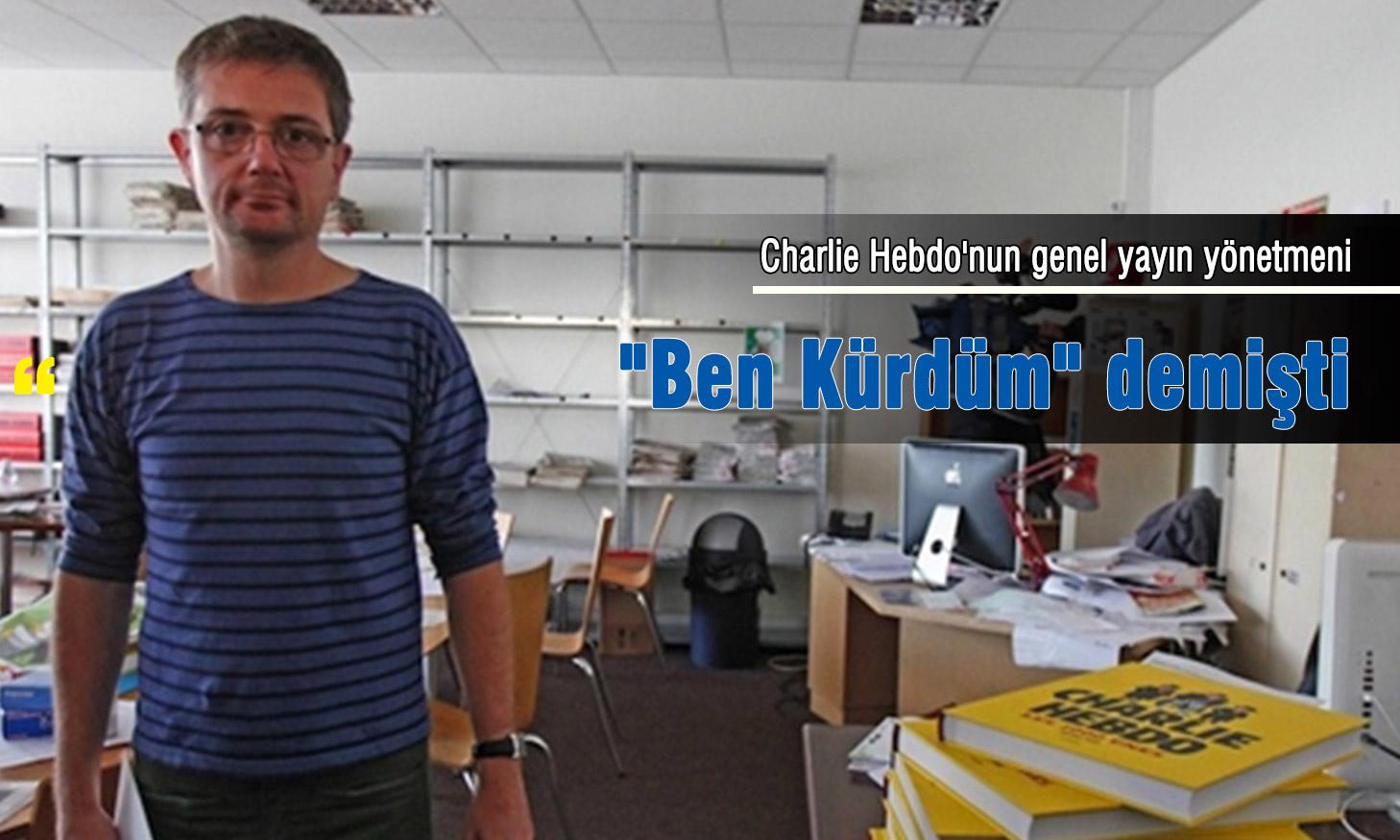 Charlie Hebdo'nun genel yayın yönetmeni
