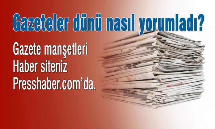 Gazete manşetleri Presshaber.com'da.