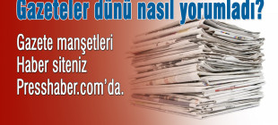 Gazete manşetleri 27 Ocak 2015