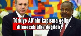 Türkiye AB'nin kapısına gelip dilenecek ülke değildir!