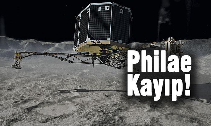Avrupa Uzay Ajansı'nın geçtiğimiz yılın Kasım ayında bir kuyruklu yıldıza indirmeyi başardığı keşif aracı Philae bulunamıyor.